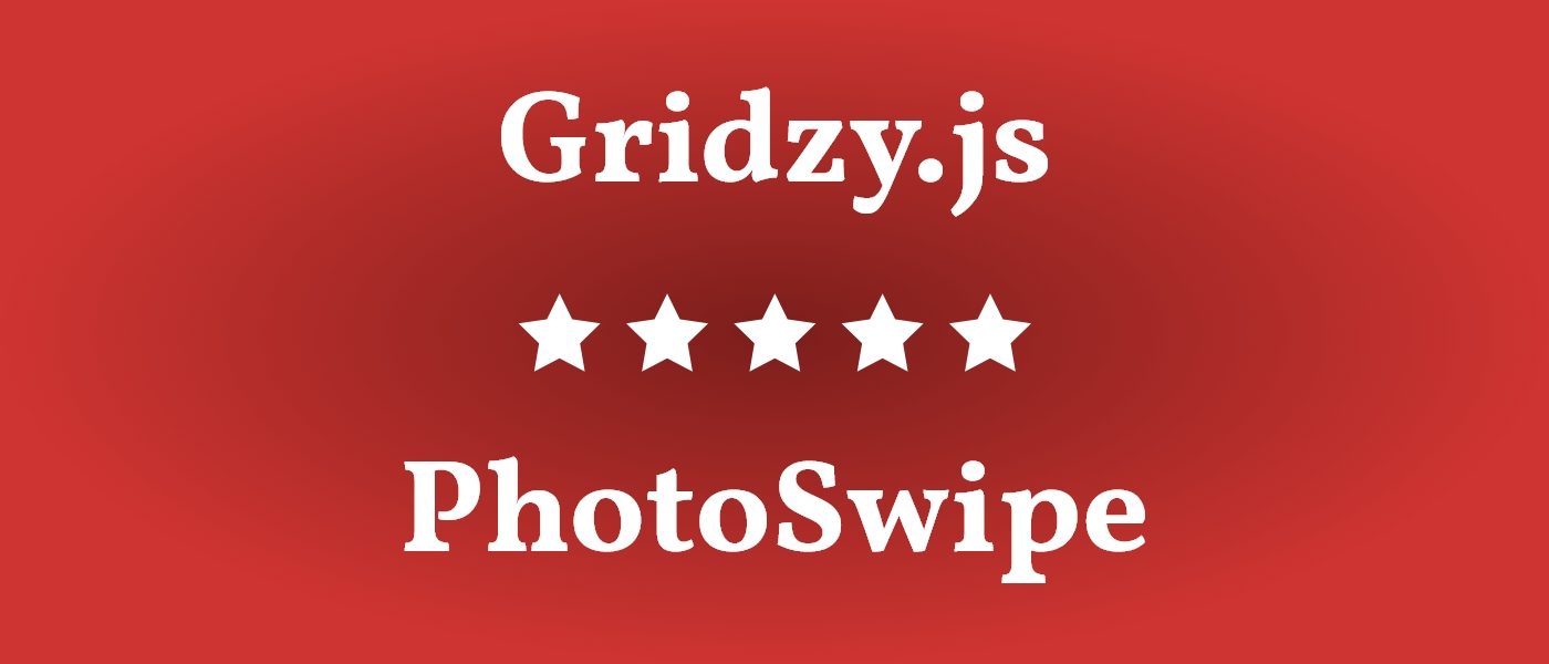 The Royal Association – Gridzy.js & PhotoSwipe