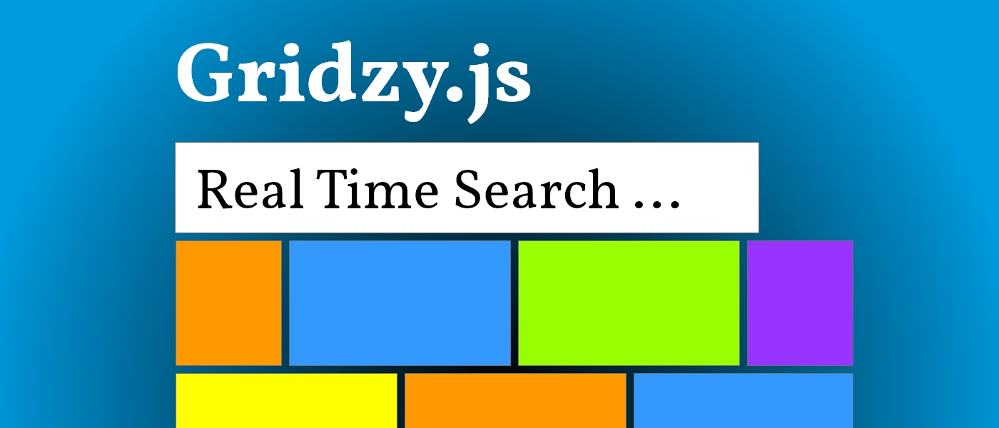 A Search Field for Gridzy.Js